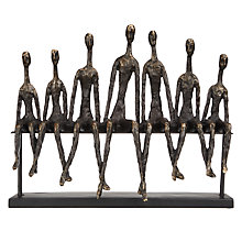Buy Libra Friendship Bench Sculpture Online at johnlewis.com