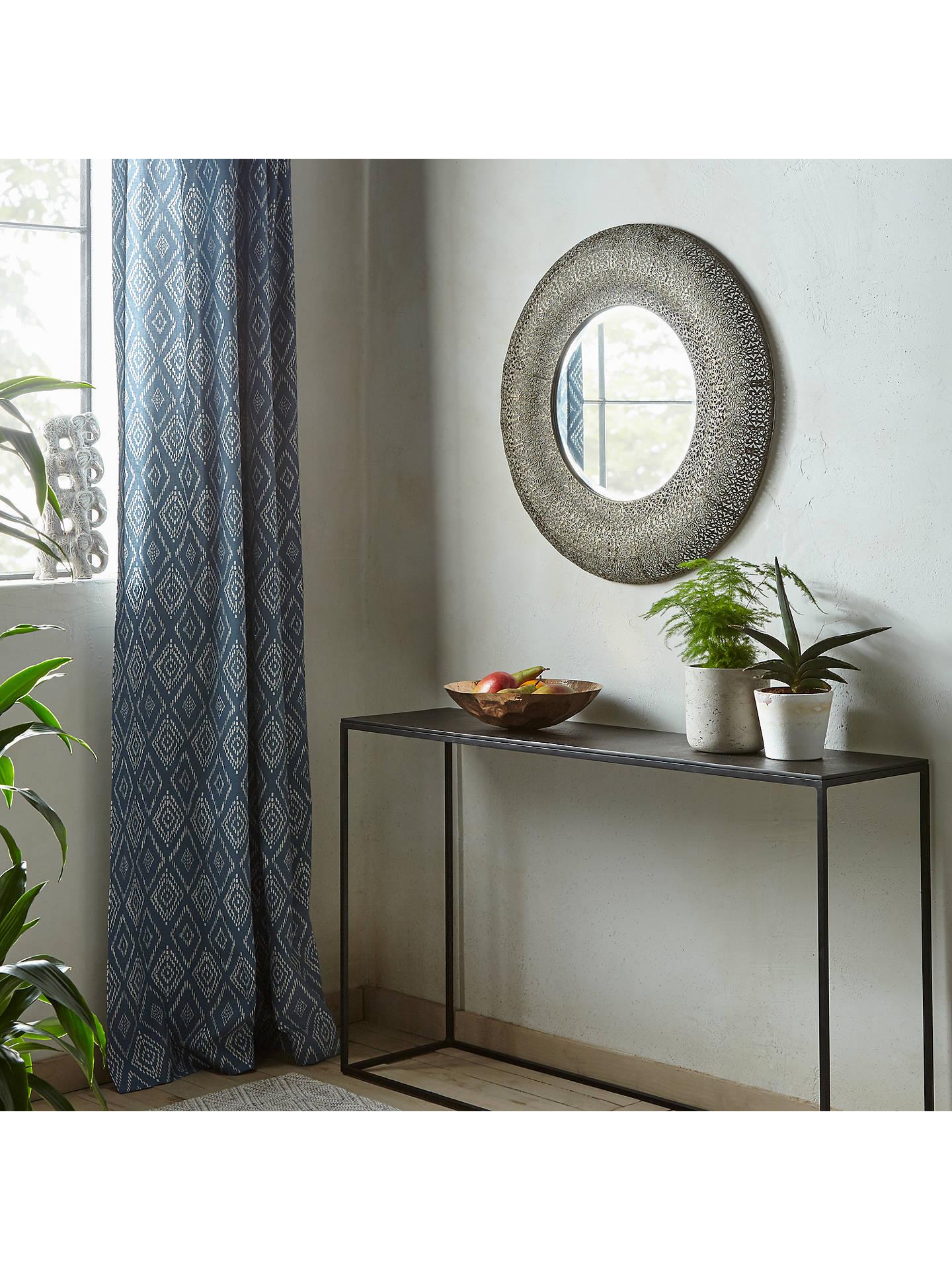 343812c8a8c0 ... Buy Libra Filigree Round Wall Mirror, 70 x 70cm, Dark Grey Online at  johnlewis ...