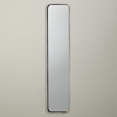 John Lewis Oblong Metal Mirror, 76 x 15cm