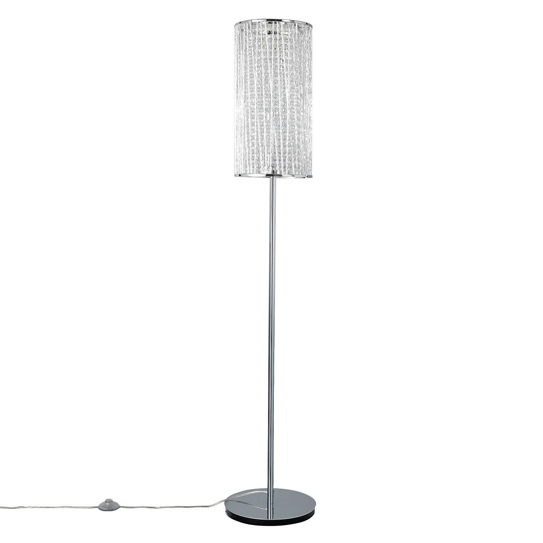 John Lewis Emilia Crystal Drum Floor Lamp at John Lewis