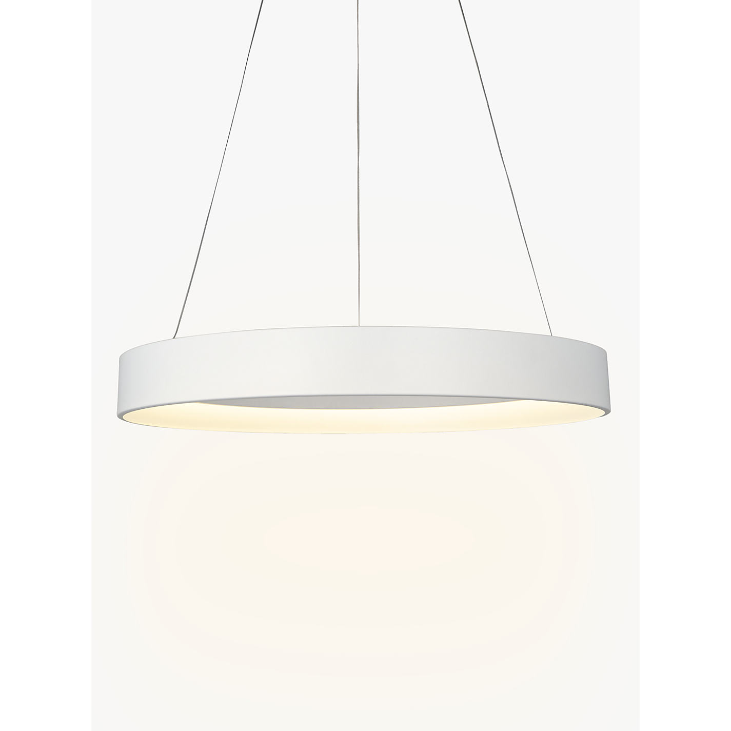 Buy john lewis jorgen hoop led ceiling light large white john buy john lewis jorgen hoop led ceiling light large white online at johnlewis aloadofball Gallery