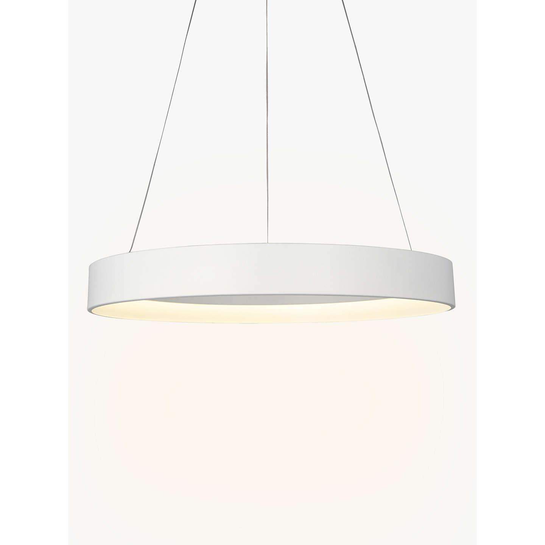 John Lewis Jorgen Hoop LED Ceiling Light, Large, White At