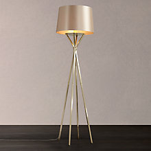 Buy John Lewis Wilfred Floor Lamp, Brass Online at johnlewis.com