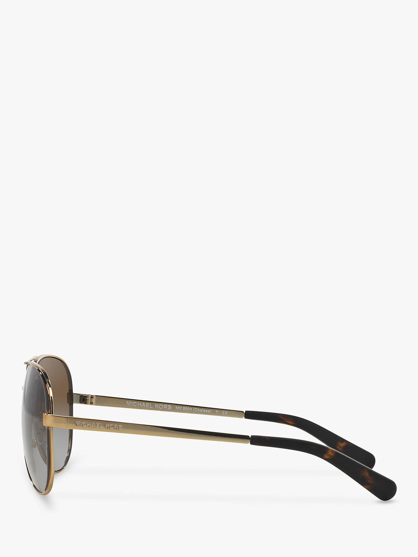 36074ca150077 ... Buy Michael Kors MK5004 Chelsea Polarised Aviator Sunglasses