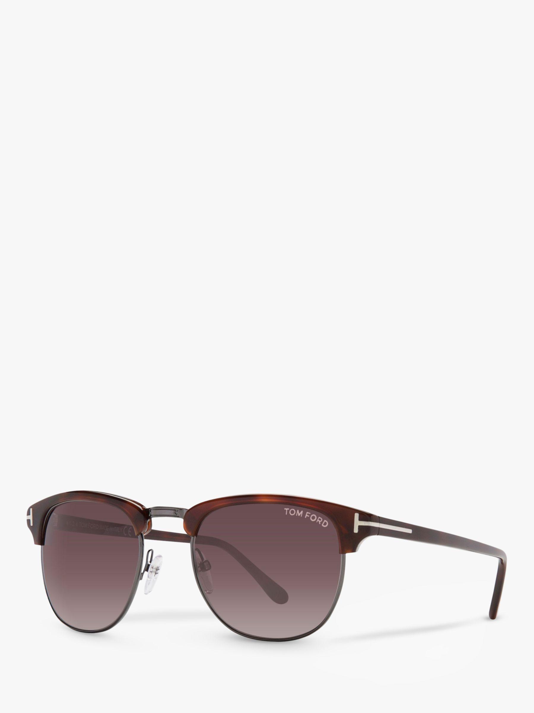 Tom Ford TOM FORD FT0248 Henry Sunglasses, Tortoise