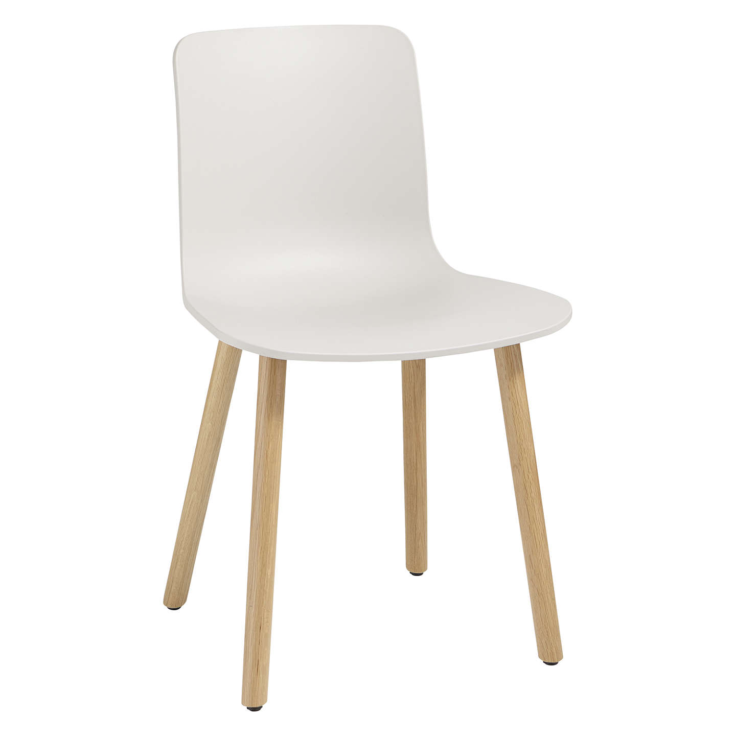 vitra hal chair warm grey light oak at john lewis. Black Bedroom Furniture Sets. Home Design Ideas