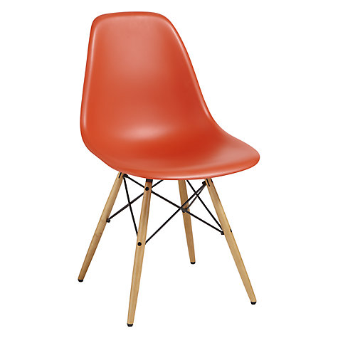 buy vitra eames dsw 43cm side chair john lewis. Black Bedroom Furniture Sets. Home Design Ideas