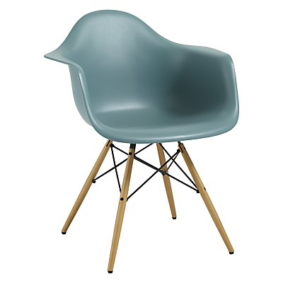 Vitra Eames DAW Armchair, Light Maple Leg
