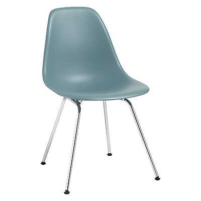 Vitra Eames DSX Side Chair, Chrome Leg