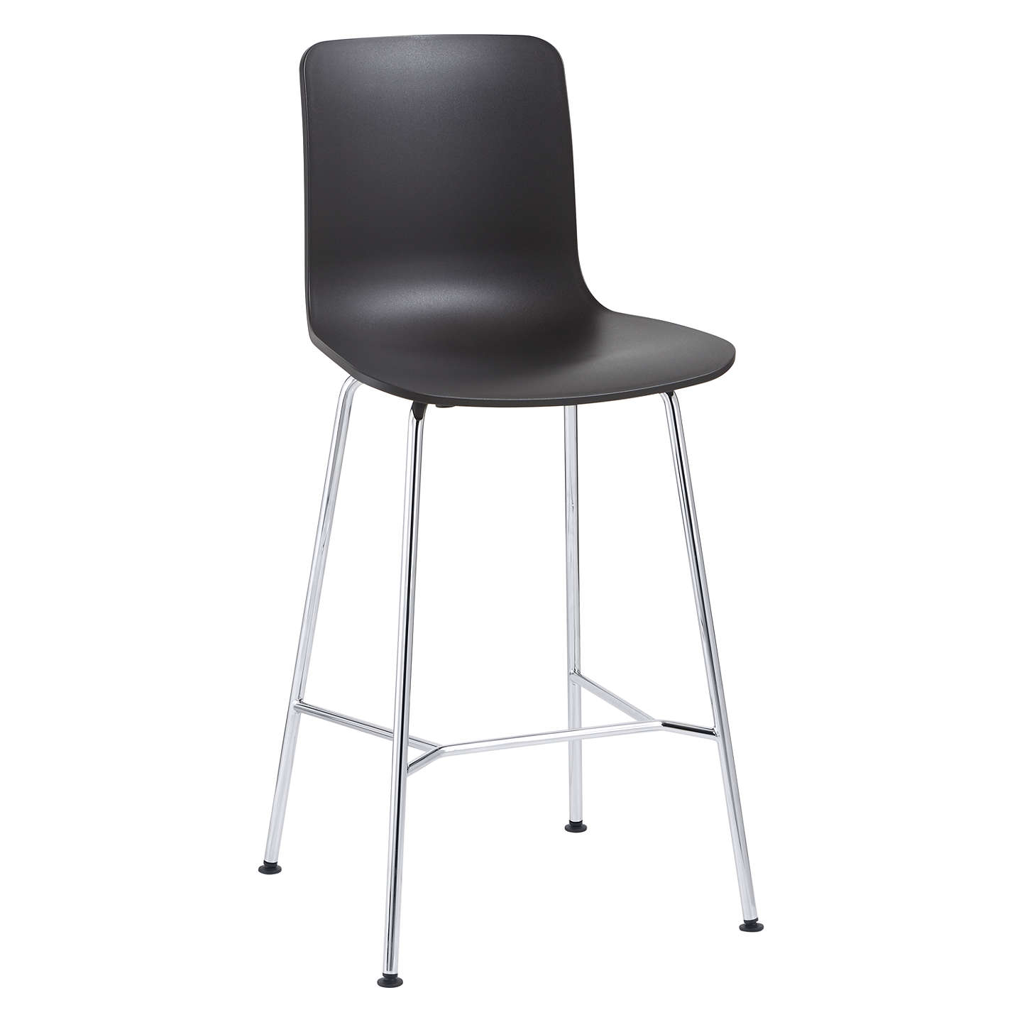 vitra hal bar chair basic dark at john lewis. Black Bedroom Furniture Sets. Home Design Ideas