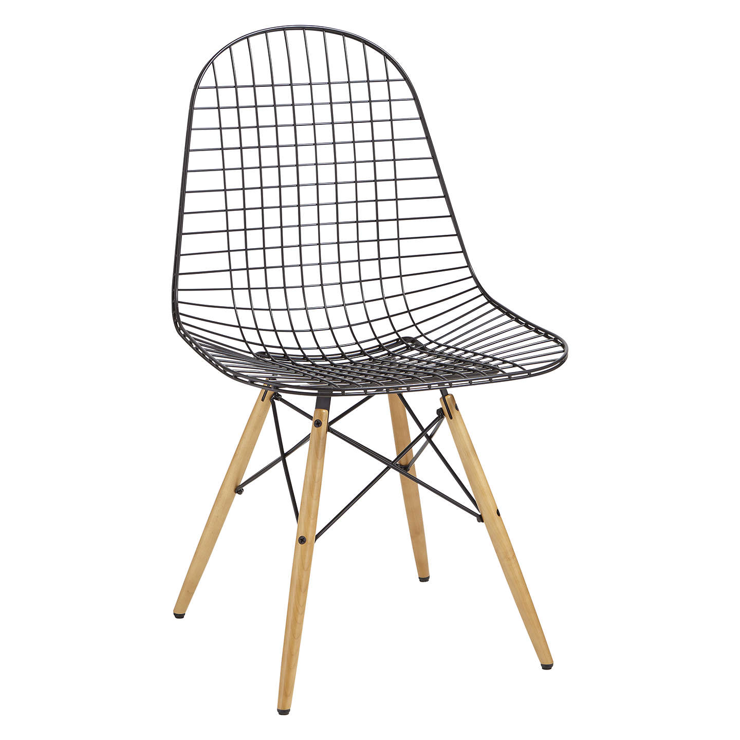 vitra eames dkw wire chair at john lewis. Black Bedroom Furniture Sets. Home Design Ideas