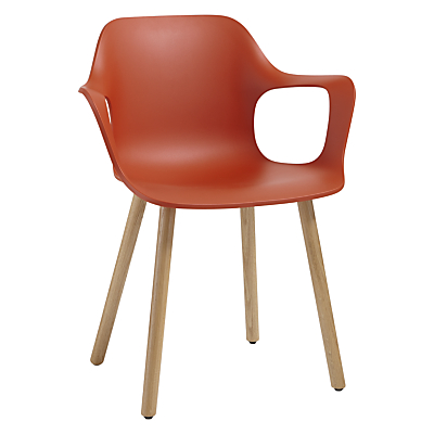 Vitra HAL Armchair, Light Oak Leg
