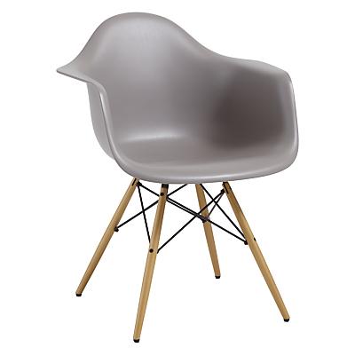 Vitra Eames DAW Armchair, Light Maple Leg