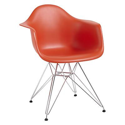 Vitra Eames DAR Armchair, Chrome Leg