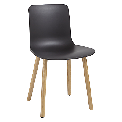 Vitra HAL Chair, Light Oak Leg
