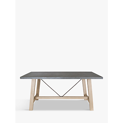 Hudson Living Chilson Trestle 6-Seater Dining Table