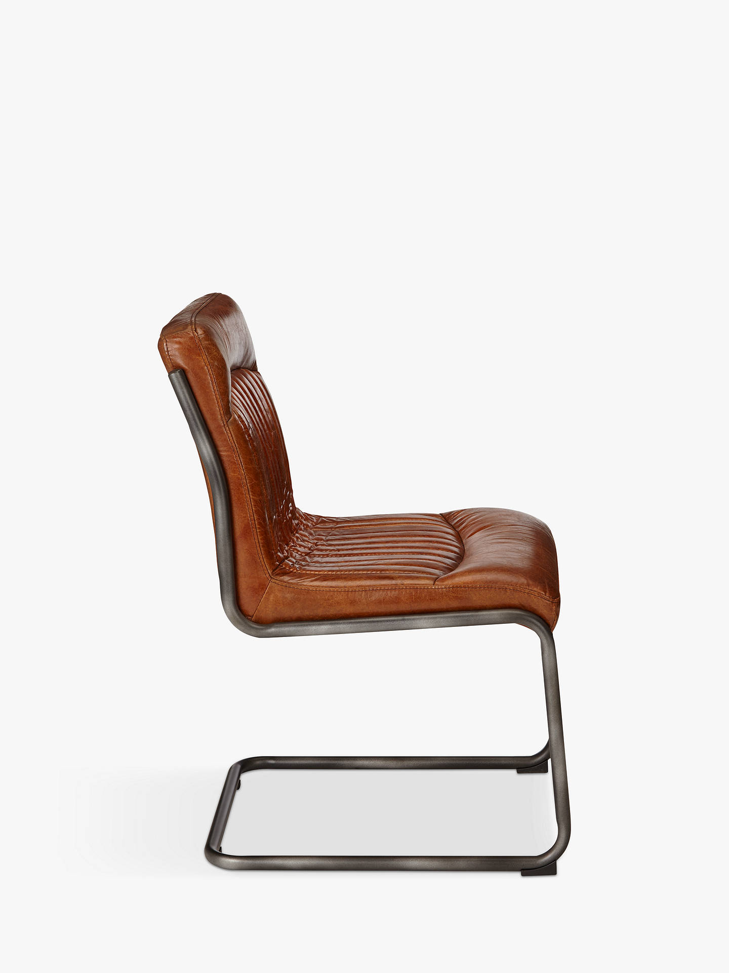 Buy Hudson Living Capri Leather Chair, Brown Online at johnlewis.com