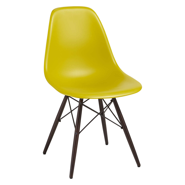 vitra eames dsw side chair dark maple leg at john lewis. Black Bedroom Furniture Sets. Home Design Ideas