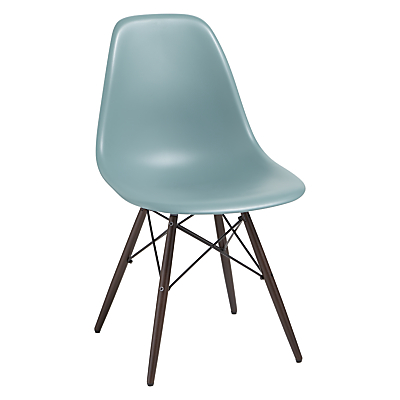 Vitra Eames DSW Side Chair, Dark Maple Leg