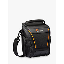 Buy Lowepro Adventura SH 100 II Camera Shoulder Bag for Bridge, CSC and Action Video Cameras, Black Online at johnlewis.com