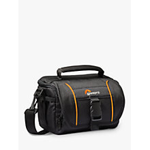 Buy Lowepro Adventura SH 110 II Camera Shoulder Bag for CSCs, Camcorders and Action Video Cameras, Black Online at johnlewis.com