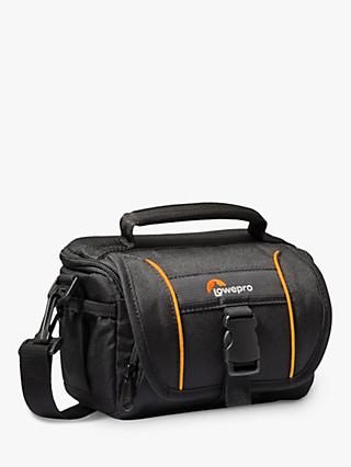 Lowepro Adventura SH 110 II Camera Shoulder Bag for CSCs, Camcorders and Action Video Cameras, Black