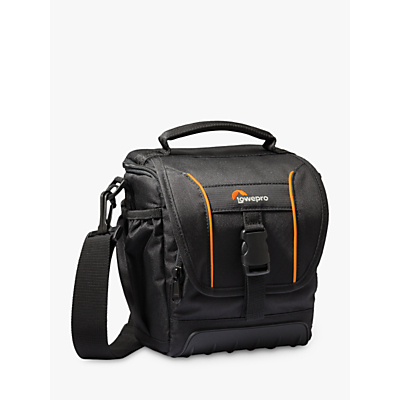 Lowepro Adventura SH 140 II Camera Shoulder Bag for DSLRs, Black