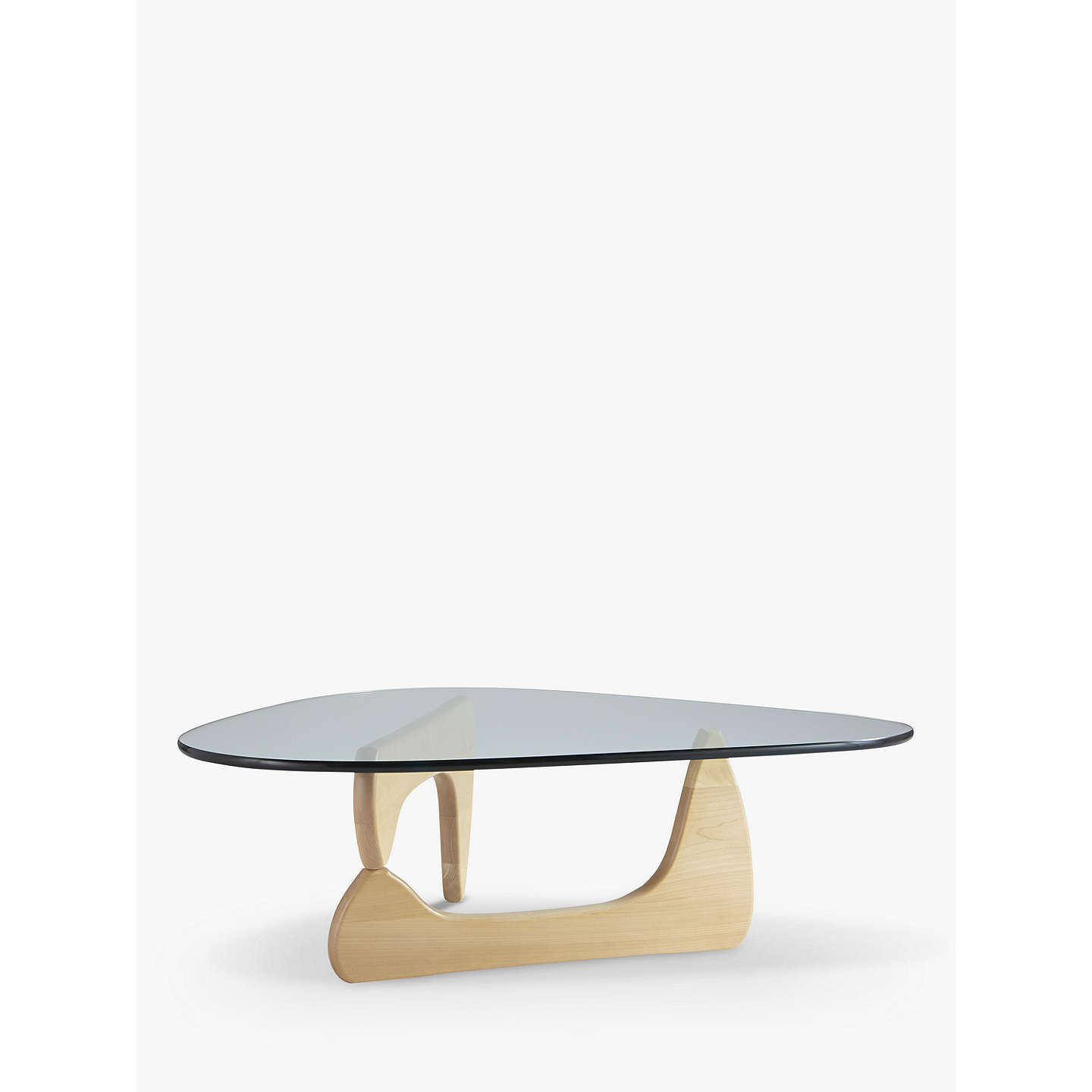 vitra noguchi coffee table maple wood at john lewis. Black Bedroom Furniture Sets. Home Design Ideas