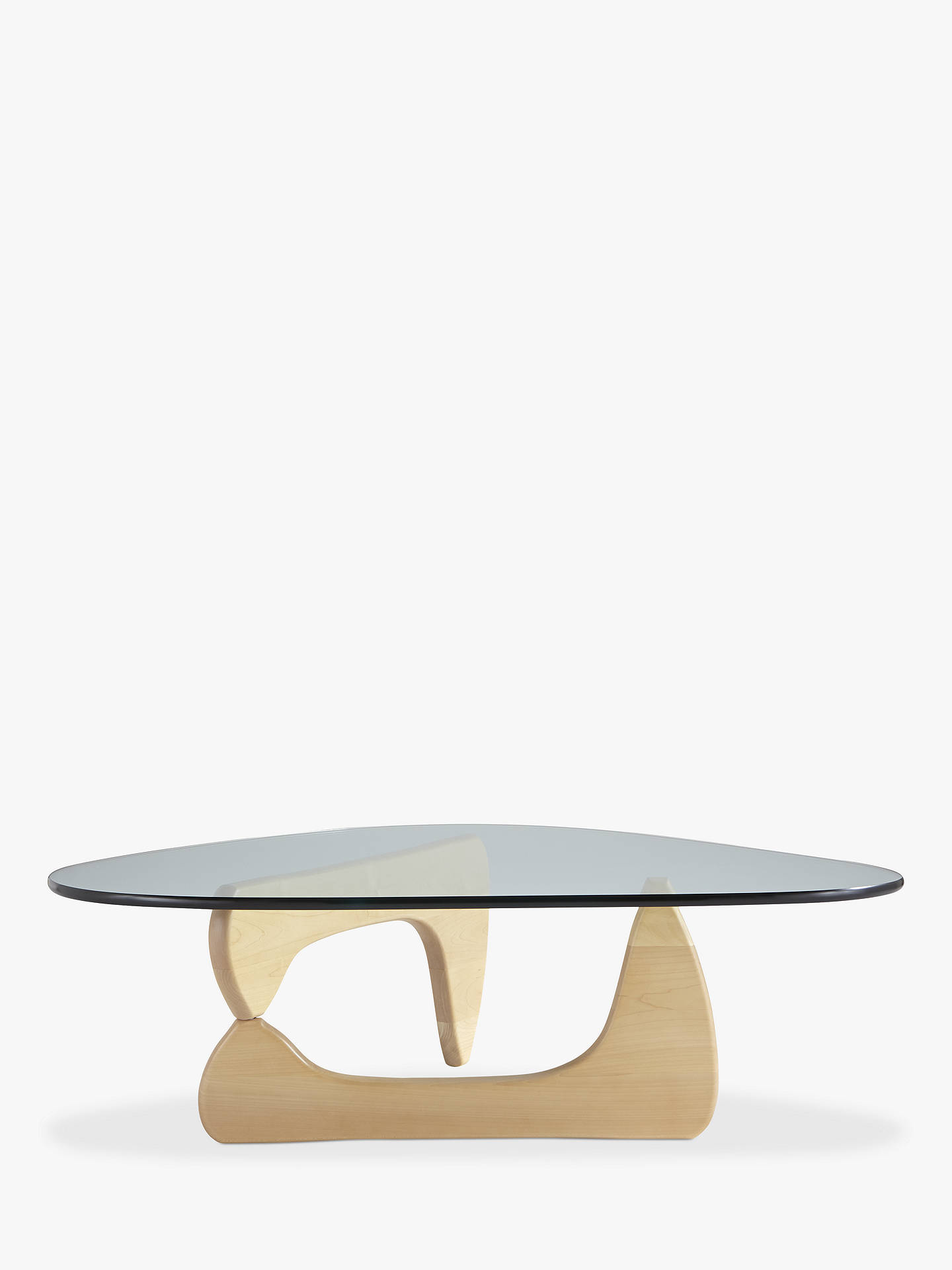 Buy Vitra Noguchi Coffee Table, Maple Wood Online at johnlewis.com