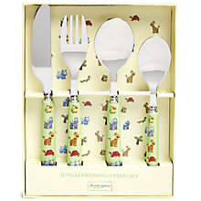 Buy Martin Gulliver Jungle Friends Cutlery Set Online at johnlewis.com
