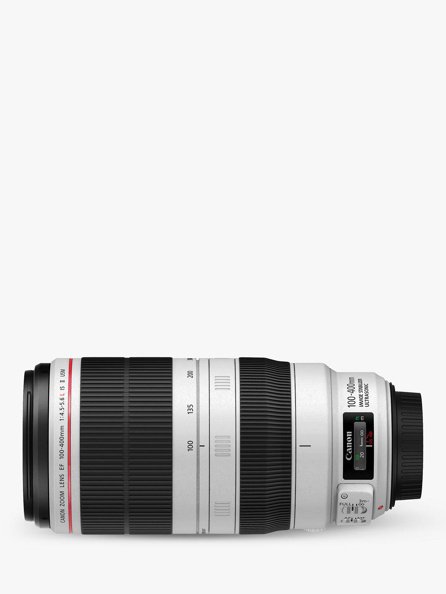 BuyCanon EF 100-400mm f/4.5-5.6L IS II USM Telephoto Lens Online at johnlewis.com