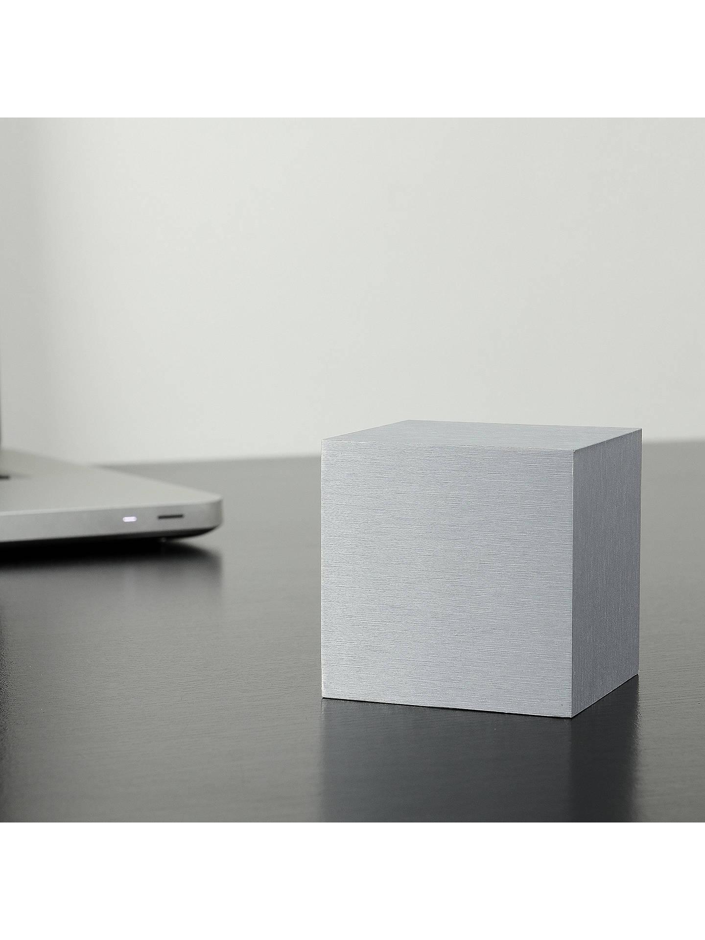 Gingko Click Clock Cube Led Alarm Clock At John Lewis