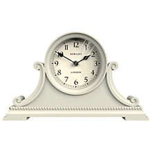 Buy Newgate Gatekeepers Mantel Clock, Cream Online at johnlewis.com