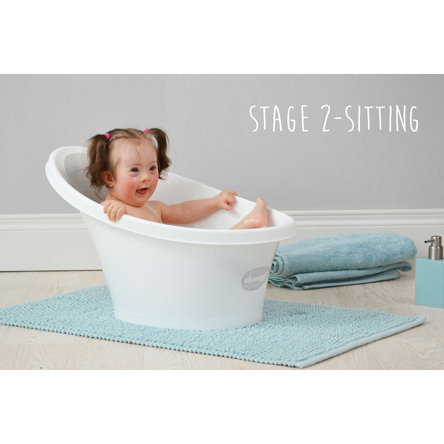 Shnuggle Baby Bath at John Lewis