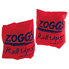Buy Zoggs Roll-Up Armbands, Orange Online at johnlewis.com