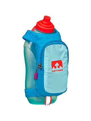 Buy Nathan SpeedDraw Plus Insulated Handheld Flask, Light Blue Online at johnlewis.com