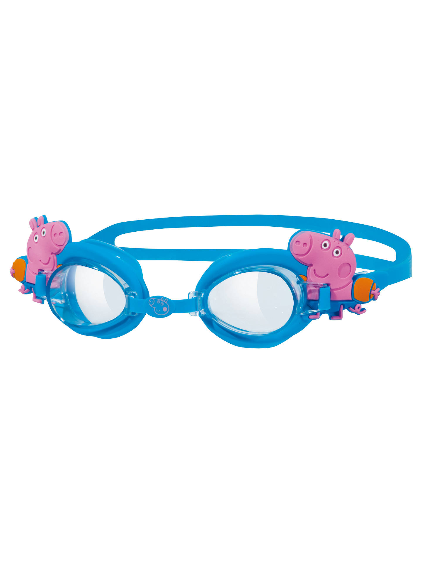 BuyZoggs George Pig Adjustable Goggles, Blue Online at johnlewis.com