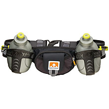 Buy Nathan Trail Mix Hydration Belt, Black/Grey Online at johnlewis.com
