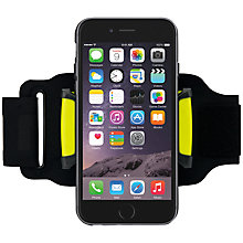 Buy Nathan Sonic Mount Armband, Black Online at johnlewis.com