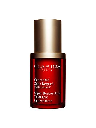 Clarins Super Restorative Total Eye Concentrate Eye Cream, 15ml