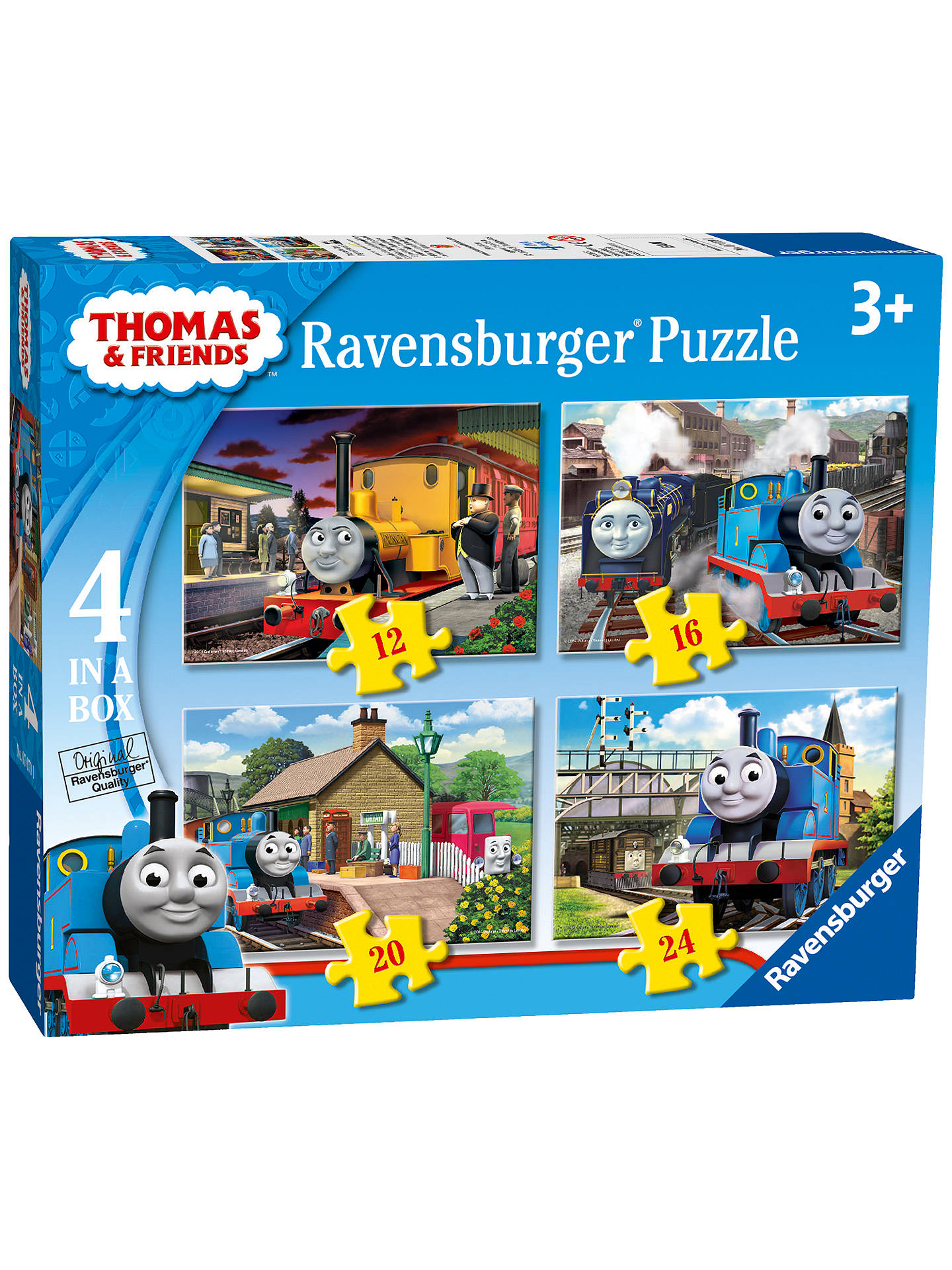 Ravensburger Thomas Amp Friends Jigsaw Puzzles Box Of 4 At