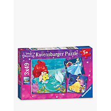 Buy Ravensburger Disney Princess Jigsaw Puzzles, Box of 3 Online at johnlewis.com