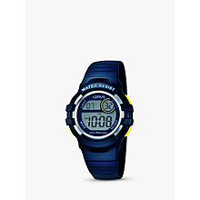 Buy Lorus Children's Digital PU Rubber Strap Watch Online at johnlewis.com