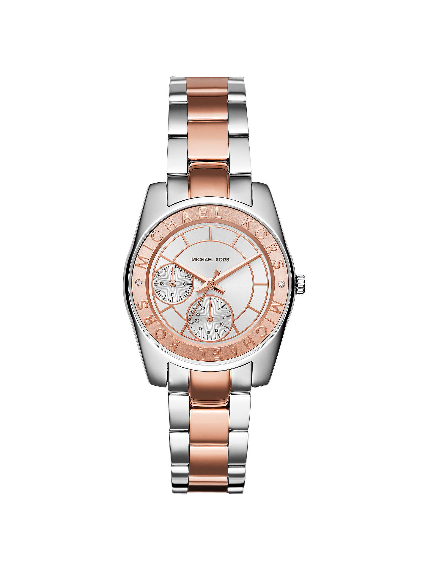 a18fb0eb78b2b Buy Michael Kors MK6196 Women s Ryland Stainless Steel Bracelet Strap Watch