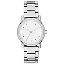 Buy DKNY NY2342 Women's SoHo Bracelet Watch, Silver/White Online at johnlewis.com