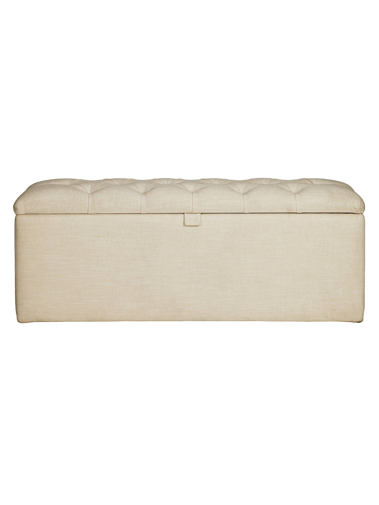 Ottomans Deacon Beige Upholstered Blanket Box: John Lewis Royale II Ottoman Blanket Box, Hera Beige At