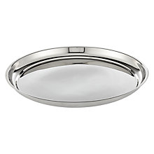Buy House by John Lewis Tray, Stainless Steel Online at johnlewis.com