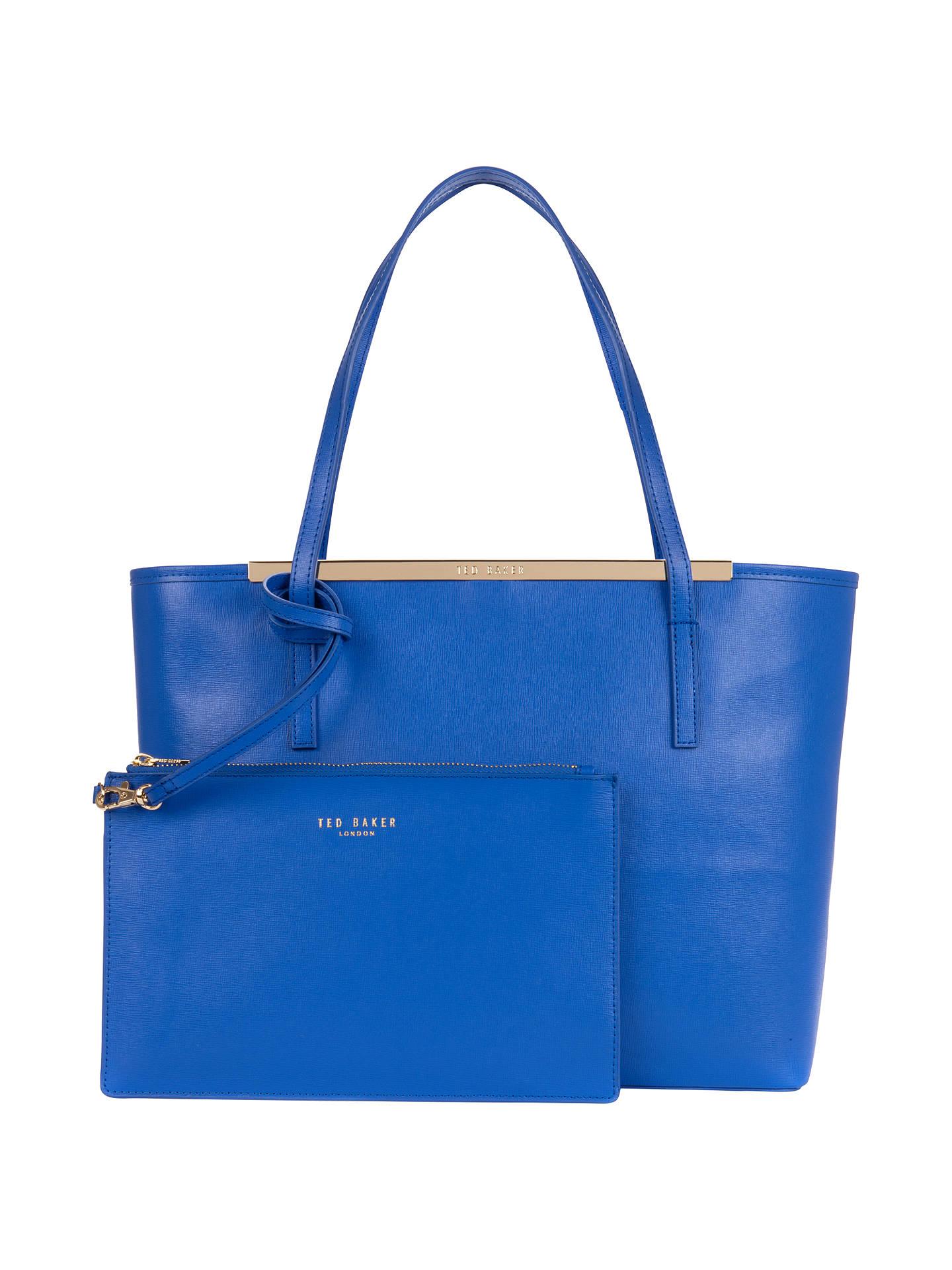 748443d39d12e Ted Baker Isbell Leather Crosshatch Shopper Bag at John Lewis   Partners
