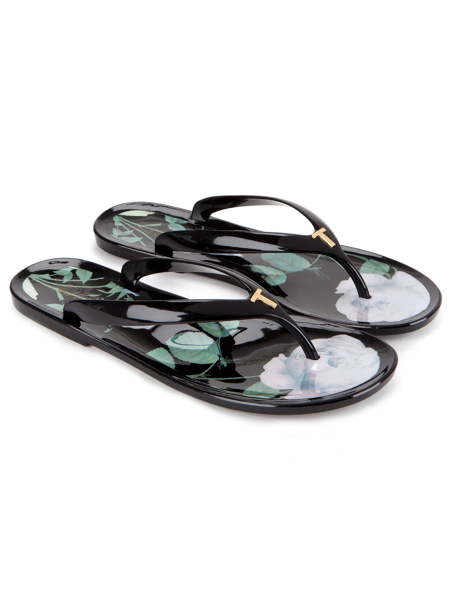 fbd621149 ... Buy Ted Baker Vickay Distinguishing Rose Flip-flop and Shopper Set