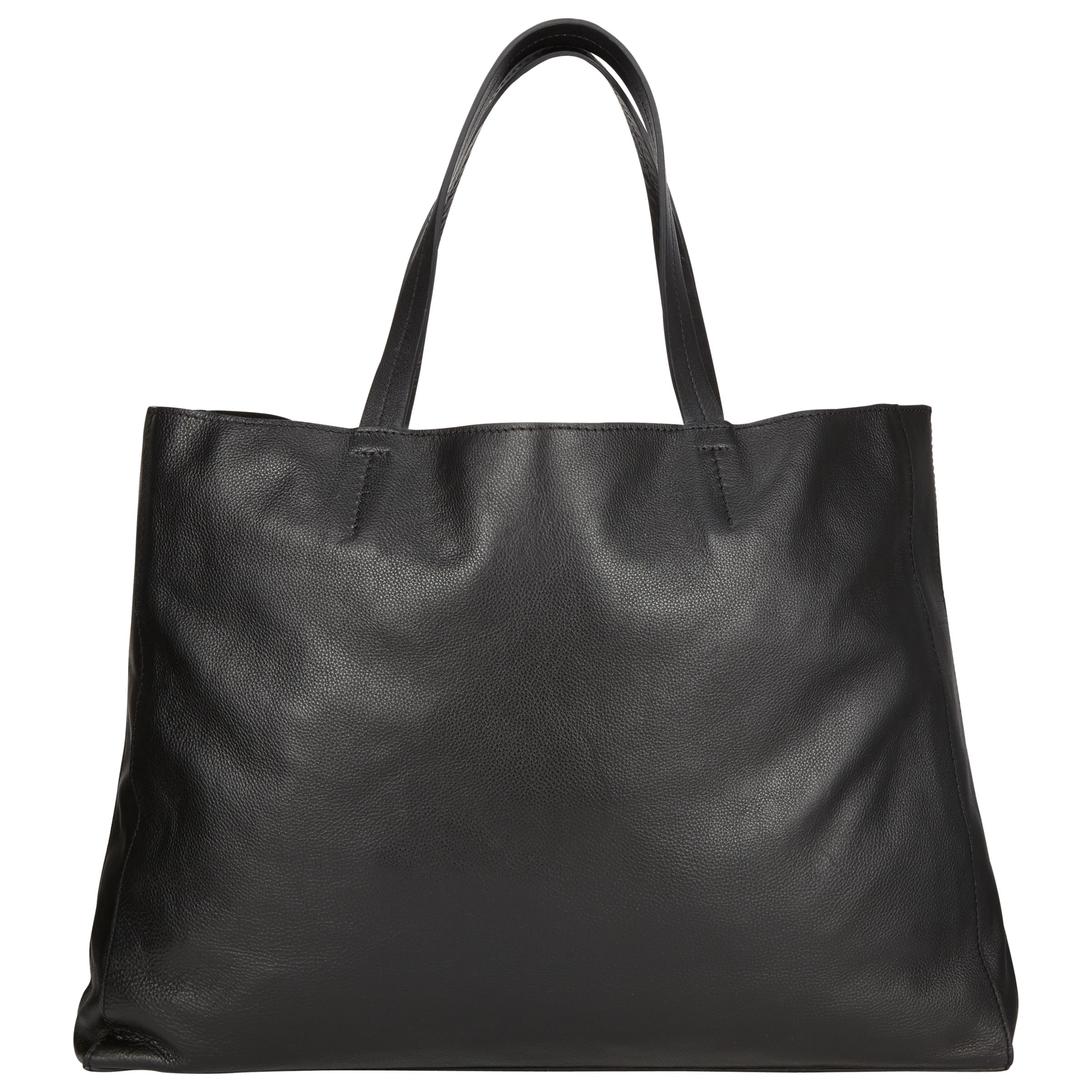 Collection WEEKEND by John Lewis Morgan Raw Edge Leather Tote Bag at John  Lewis   Partners 6640a13be